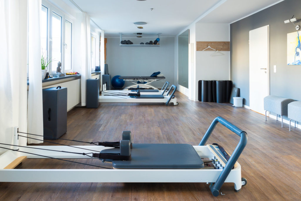 Pilates Düsseldorf Kursraum PHYSIOSOLUTION
